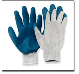 #688-691 Rubber Coated Knit Gloves (Pair) 688, 689, 690, 691