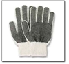 #804-806 Med Weight Knit Gloves w/dots (Dozen) 804, 805, 806