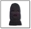 #912-913 Three Hole Knit Face Mask 912, 913