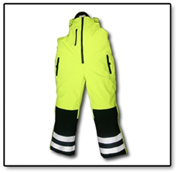 #HV40BP Hi-Vis Reflective Softshell High Freezer Bib-Pant