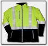 #HV40J Hi-Vis Reflective Softshell Freezer Jacket