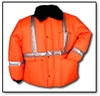 #HV55J Hi-Vis Reflective Freezer Jacket