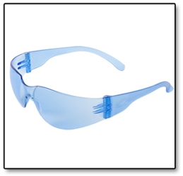#SG04 Light Blue Safety Glasses