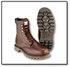 #B17 Plain Toe Leather Boot