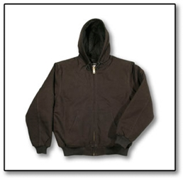 #F505J Hooded Canvas Jacket